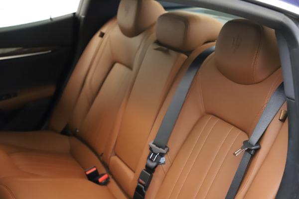 Used 2018 Maserati Ghibli S Q4 for sale Sold at Alfa Romeo of Greenwich in Greenwich CT 06830 20