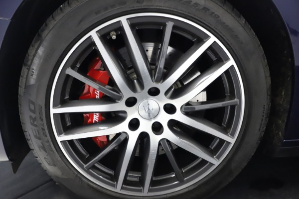 Used 2018 Maserati Ghibli S Q4 for sale Sold at Alfa Romeo of Greenwich in Greenwich CT 06830 26