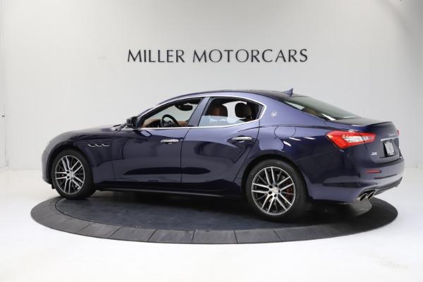 Used 2018 Maserati Ghibli S Q4 for sale Sold at Alfa Romeo of Greenwich in Greenwich CT 06830 4