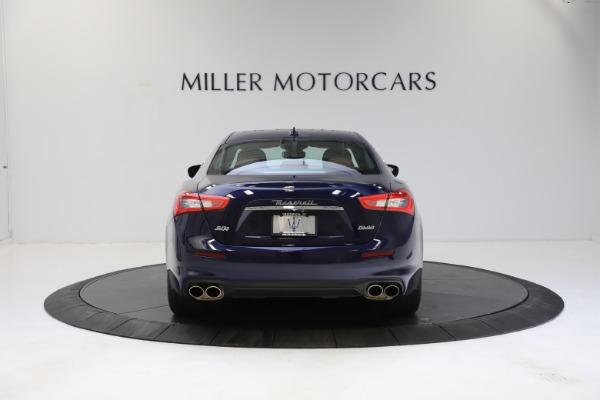 Used 2018 Maserati Ghibli S Q4 for sale Sold at Alfa Romeo of Greenwich in Greenwich CT 06830 6
