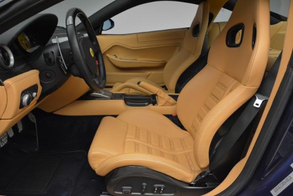 Used 2007 Ferrari 599 GTB Fiorano GTB Fiorano F1 for sale Sold at Alfa Romeo of Greenwich in Greenwich CT 06830 14