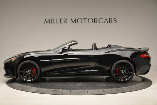 Used 2018 Aston Martin Vanquish S Convertible for sale Sold at Alfa Romeo of Greenwich in Greenwich CT 06830 3