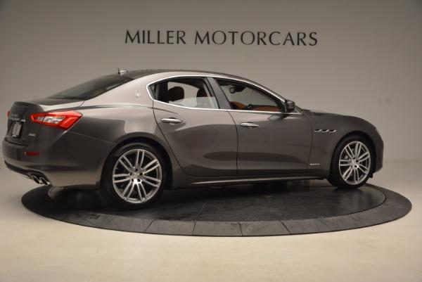 New 2018 Maserati Ghibli S Q4 GranLusso for sale Sold at Alfa Romeo of Greenwich in Greenwich CT 06830 8