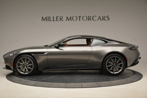 Used 2018 Aston Martin DB11 V12 for sale $169,990 at Alfa Romeo of Greenwich in Greenwich CT 06830 3