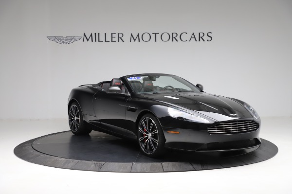 Used 2015 Aston Martin DB9 Convertible for sale Sold at Alfa Romeo of Greenwich in Greenwich CT 06830 10