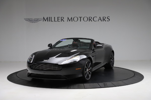Used 2015 Aston Martin DB9 Convertible for sale Sold at Alfa Romeo of Greenwich in Greenwich CT 06830 12