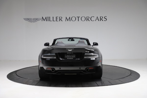 Used 2015 Aston Martin DB9 Convertible for sale Sold at Alfa Romeo of Greenwich in Greenwich CT 06830 5