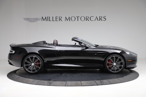 Used 2015 Aston Martin DB9 Convertible for sale Sold at Alfa Romeo of Greenwich in Greenwich CT 06830 8