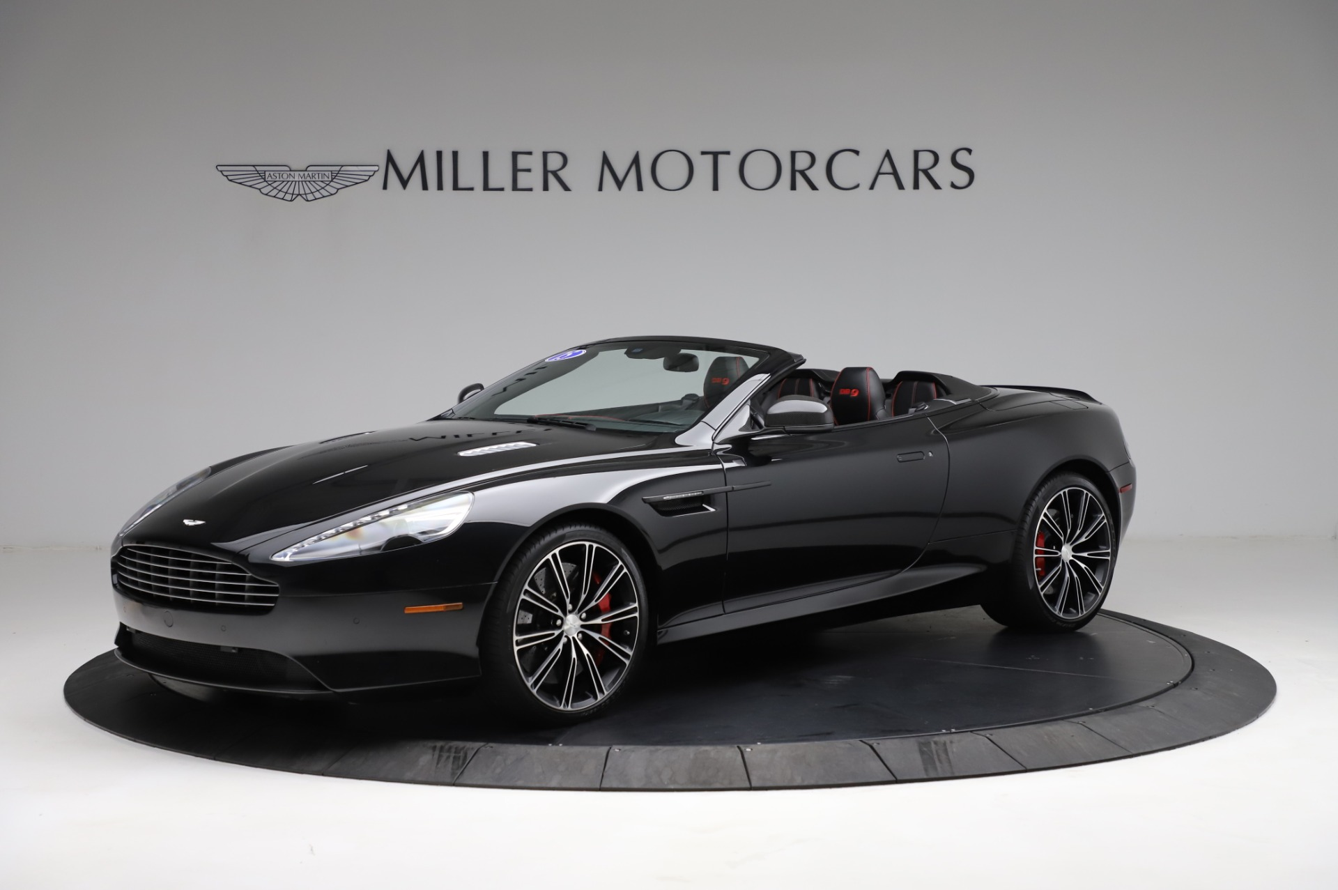 Used 2015 Aston Martin DB9 Convertible for sale Sold at Alfa Romeo of Greenwich in Greenwich CT 06830 1