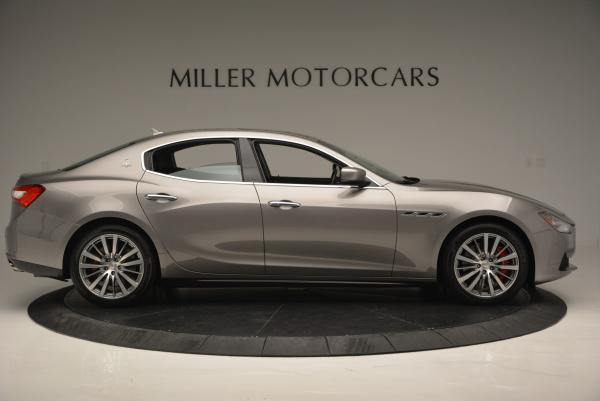 Used 2016 Maserati Ghibli S Q4 for sale Sold at Alfa Romeo of Greenwich in Greenwich CT 06830 9