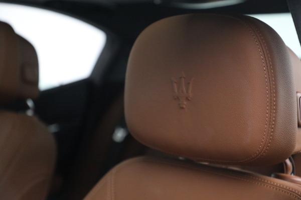 Used 2018 Maserati Ghibli S Q4 for sale $54,900 at Alfa Romeo of Greenwich in Greenwich CT 06830 16