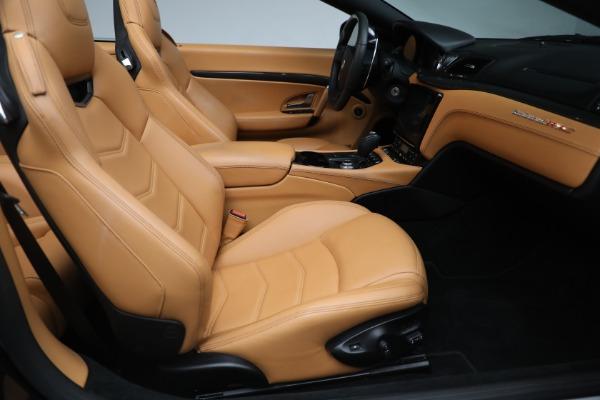 New 2018 Maserati GranTurismo MC Convertible for sale Sold at Alfa Romeo of Greenwich in Greenwich CT 06830 24
