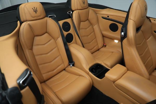 New 2018 Maserati GranTurismo MC Convertible for sale Sold at Alfa Romeo of Greenwich in Greenwich CT 06830 26