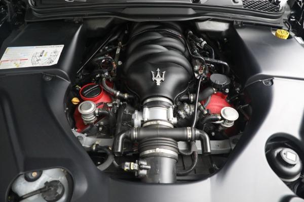 New 2018 Maserati GranTurismo MC Convertible for sale Sold at Alfa Romeo of Greenwich in Greenwich CT 06830 27