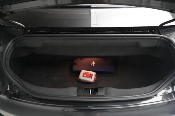 New 2018 Maserati GranTurismo MC Convertible for sale Sold at Alfa Romeo of Greenwich in Greenwich CT 06830 28
