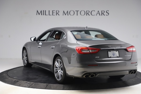 Used 2018 Maserati Quattroporte S Q4 GranLusso for sale $65,900 at Alfa Romeo of Greenwich in Greenwich CT 06830 5