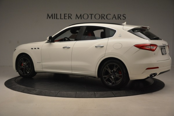 New 2018 Maserati Levante Q4 GranSport for sale Sold at Alfa Romeo of Greenwich in Greenwich CT 06830 4