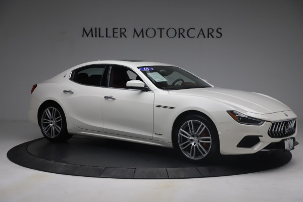 Used 2018 Maserati Ghibli S Q4 GranSport for sale Call for price at Alfa Romeo of Greenwich in Greenwich CT 06830 10