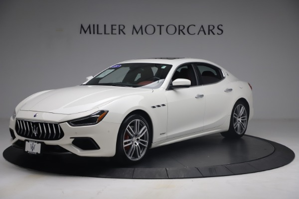 Used 2018 Maserati Ghibli S Q4 GranSport for sale Call for price at Alfa Romeo of Greenwich in Greenwich CT 06830 2