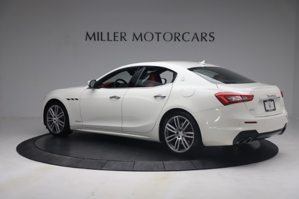 Used 2018 Maserati Ghibli S Q4 GranSport for sale Call for price at Alfa Romeo of Greenwich in Greenwich CT 06830 4