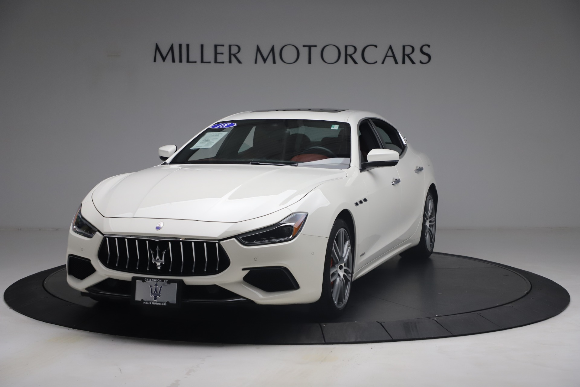 Used 2018 Maserati Ghibli S Q4 GranSport for sale Call for price at Alfa Romeo of Greenwich in Greenwich CT 06830 1