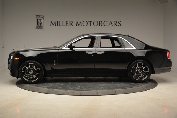 Used 2017 Rolls-Royce Ghost Black Badge for sale Sold at Alfa Romeo of Greenwich in Greenwich CT 06830 3