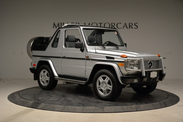 Used 1999 Mercedes Benz G500 Cabriolet for sale Sold at Alfa Romeo of Greenwich in Greenwich CT 06830 10