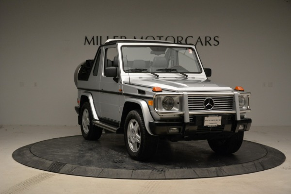 Used 1999 Mercedes Benz G500 Cabriolet for sale Sold at Alfa Romeo of Greenwich in Greenwich CT 06830 11