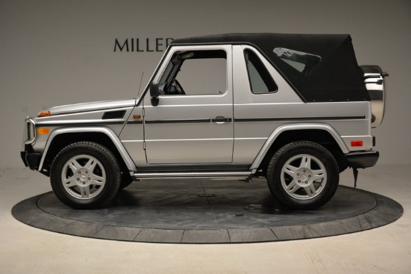 Used 1999 Mercedes Benz G500 Cabriolet for sale Sold at Alfa Romeo of Greenwich in Greenwich CT 06830 14