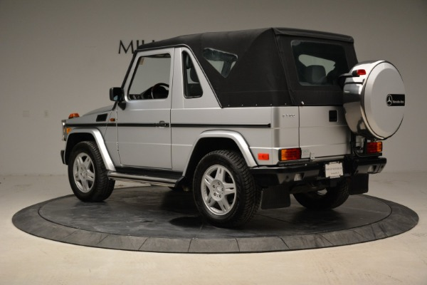 Used 1999 Mercedes Benz G500 Cabriolet for sale Sold at Alfa Romeo of Greenwich in Greenwich CT 06830 15