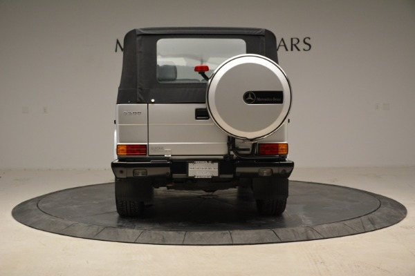 Used 1999 Mercedes Benz G500 Cabriolet for sale Sold at Alfa Romeo of Greenwich in Greenwich CT 06830 16