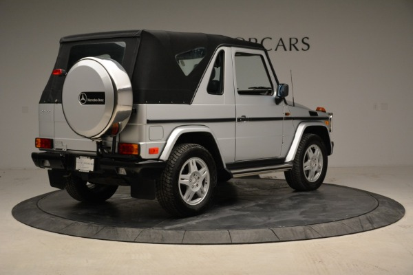 Used 1999 Mercedes Benz G500 Cabriolet for sale Sold at Alfa Romeo of Greenwich in Greenwich CT 06830 17