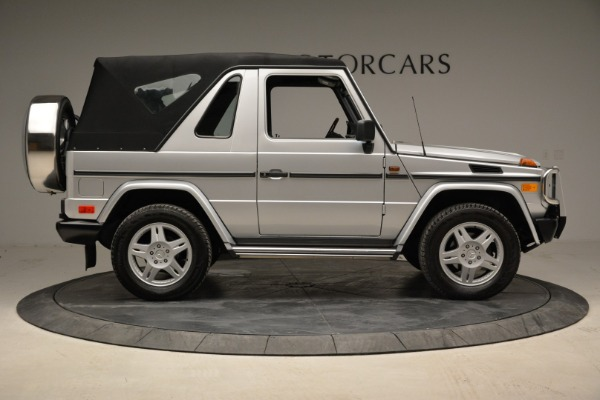 Used 1999 Mercedes Benz G500 Cabriolet for sale Sold at Alfa Romeo of Greenwich in Greenwich CT 06830 18