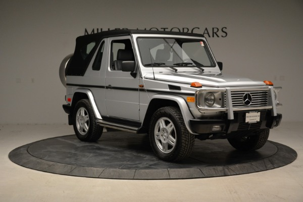 Used 1999 Mercedes Benz G500 Cabriolet for sale Sold at Alfa Romeo of Greenwich in Greenwich CT 06830 19