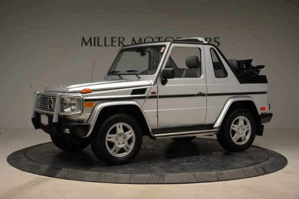 Used 1999 Mercedes Benz G500 Cabriolet for sale Sold at Alfa Romeo of Greenwich in Greenwich CT 06830 2