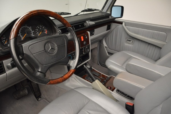 Used 1999 Mercedes Benz G500 Cabriolet for sale Sold at Alfa Romeo of Greenwich in Greenwich CT 06830 22