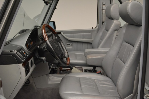 Used 1999 Mercedes Benz G500 Cabriolet for sale Sold at Alfa Romeo of Greenwich in Greenwich CT 06830 23