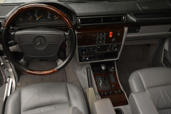 Used 1999 Mercedes Benz G500 Cabriolet for sale Sold at Alfa Romeo of Greenwich in Greenwich CT 06830 25