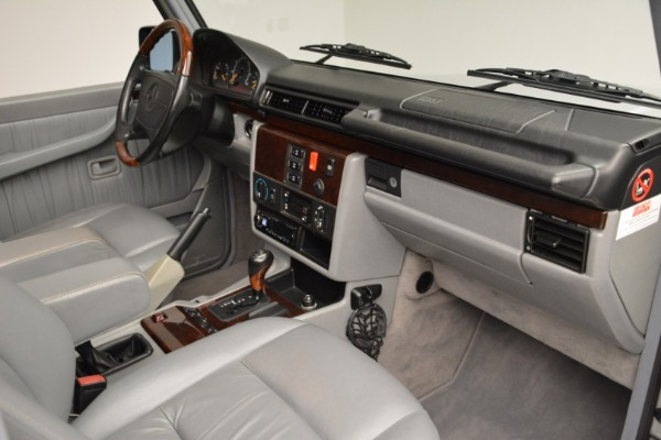 Used 1999 Mercedes Benz G500 Cabriolet for sale Sold at Alfa Romeo of Greenwich in Greenwich CT 06830 26