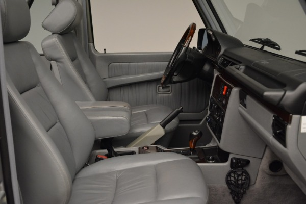 Used 1999 Mercedes Benz G500 Cabriolet for sale Sold at Alfa Romeo of Greenwich in Greenwich CT 06830 27
