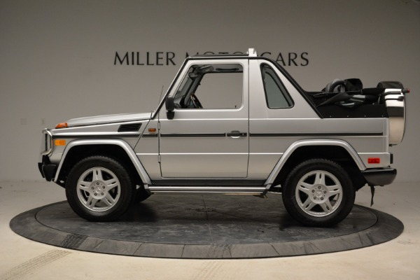 Used 1999 Mercedes Benz G500 Cabriolet for sale Sold at Alfa Romeo of Greenwich in Greenwich CT 06830 3