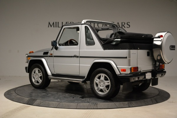 Used 1999 Mercedes Benz G500 Cabriolet for sale Sold at Alfa Romeo of Greenwich in Greenwich CT 06830 4