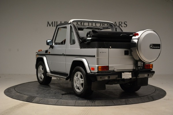 Used 1999 Mercedes Benz G500 Cabriolet for sale Sold at Alfa Romeo of Greenwich in Greenwich CT 06830 5