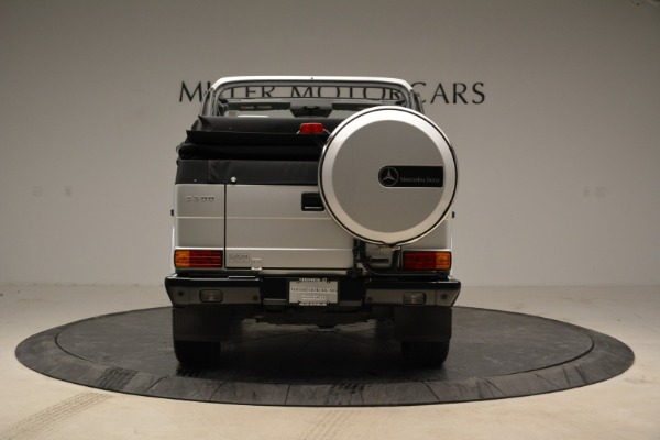 Used 1999 Mercedes Benz G500 Cabriolet for sale Sold at Alfa Romeo of Greenwich in Greenwich CT 06830 6