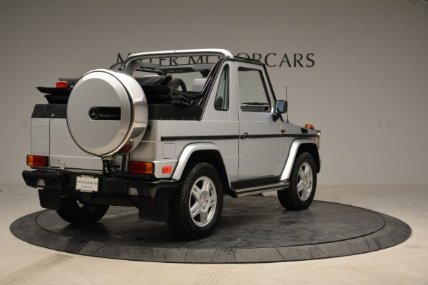 Used 1999 Mercedes Benz G500 Cabriolet for sale Sold at Alfa Romeo of Greenwich in Greenwich CT 06830 7