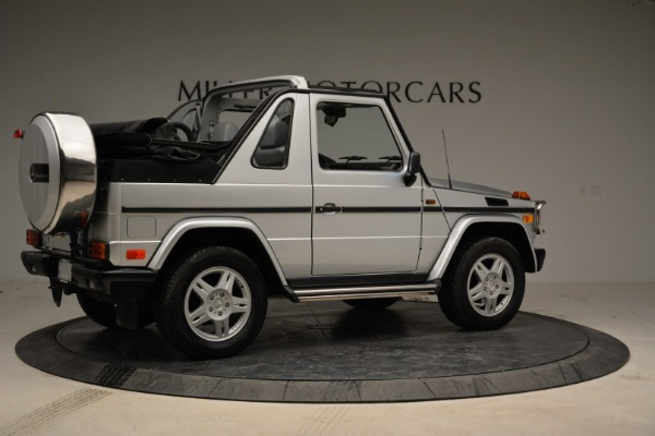 Used 1999 Mercedes Benz G500 Cabriolet for sale Sold at Alfa Romeo of Greenwich in Greenwich CT 06830 8