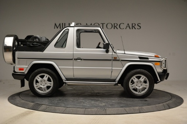 Used 1999 Mercedes Benz G500 Cabriolet for sale Sold at Alfa Romeo of Greenwich in Greenwich CT 06830 9