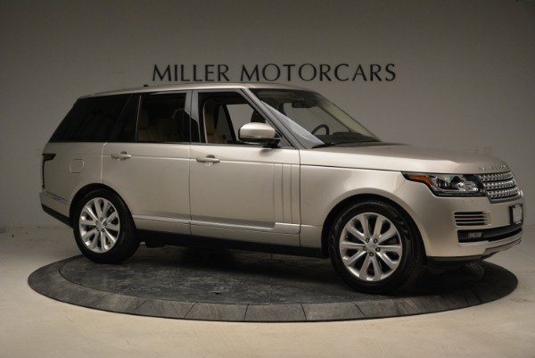 Used 2016 Land Rover Range Rover HSE for sale Sold at Alfa Romeo of Greenwich in Greenwich CT 06830 10