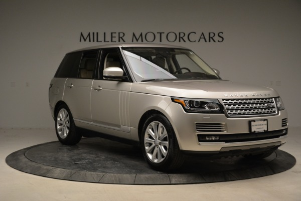 Used 2016 Land Rover Range Rover HSE for sale Sold at Alfa Romeo of Greenwich in Greenwich CT 06830 11