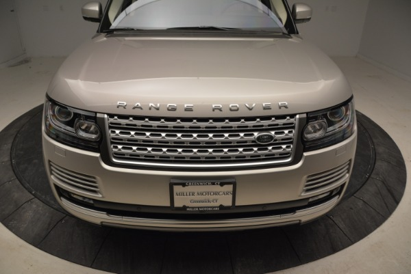 Used 2016 Land Rover Range Rover HSE for sale Sold at Alfa Romeo of Greenwich in Greenwich CT 06830 13